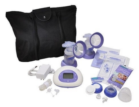 Lansinoh Signature Pro Double Electric Breast Pump Product Review