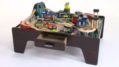 Astonishing Product Review Imaginarium Mountain Rock Train Table Interior Design Ideas Apansoteloinfo