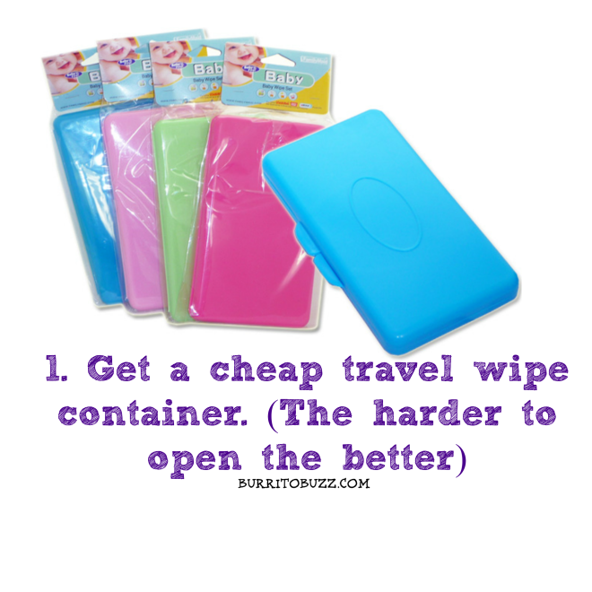 BurritoBuzz Travel color set