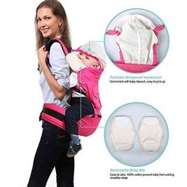 new-bebamour-comfort-baby-wrap-carrier-cotton-baby-carrier-with-hood-green-3a34b7ab12d093149f1cefee483c664b