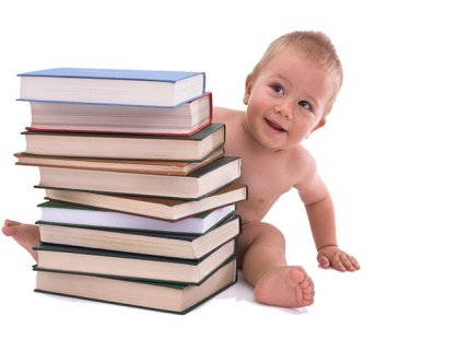 baby behind stack of books.jpg